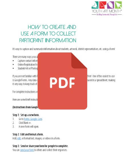 how to create a pdf form